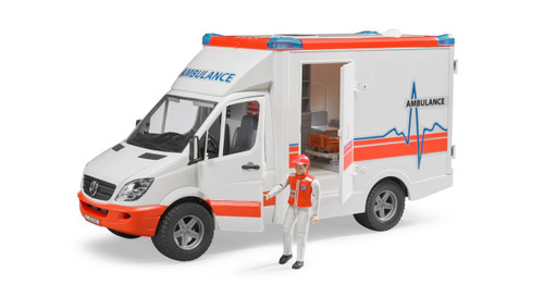MB Sprinter Ambulance w/ Driver