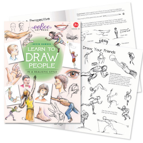 Art Books 4 - Learn To Draw People