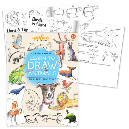 Art Books 3 - Learn To Draw Animals