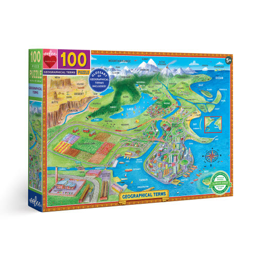 Geographical Terms 100 piece