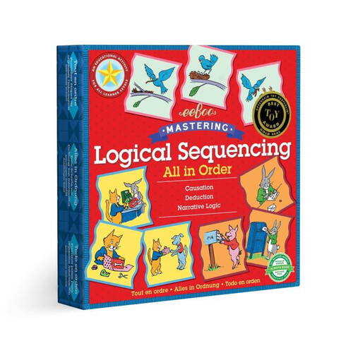 All In Order Logical Sequencing Puzzle