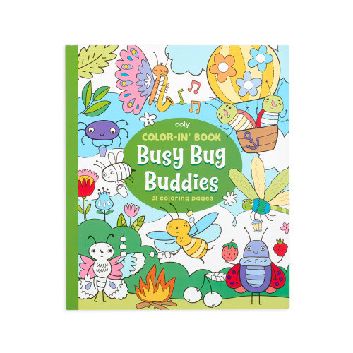 Colouring Book - Busy Bug Buddies