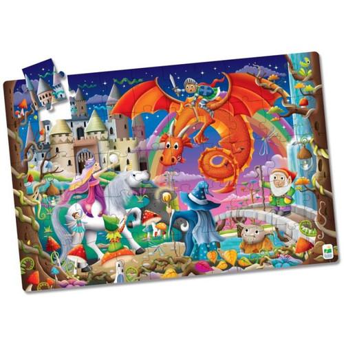 Puzzle Doubles - Glow In The Dark Fantasy
