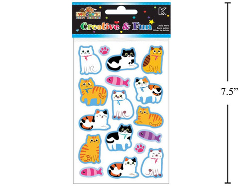 Stickers - Puffy Cats