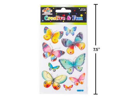 Handmade Butterflies Stickers