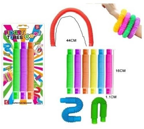 Pop Fidget Tubes 3 pack