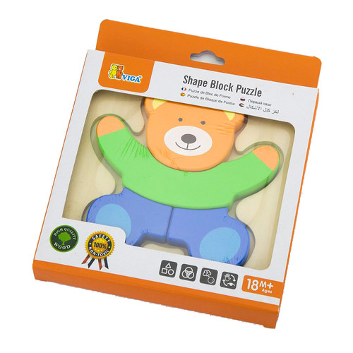 First Puzzle Bear