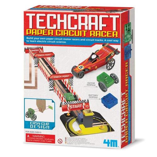 Techcraft Paper Circuit Racer