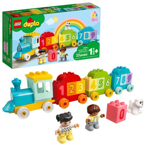 Number Train Learn To Count