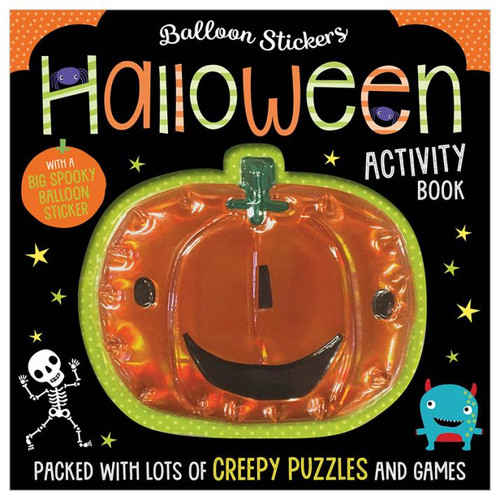 Balloon Stickers Halloween Activity Book