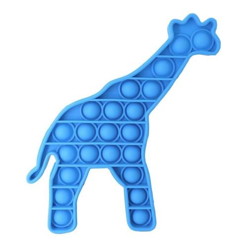 Push Bubble Fidgets Giraffe Asst.