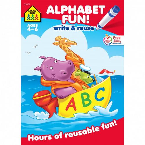 Alphabet Fun Write & Re-use
