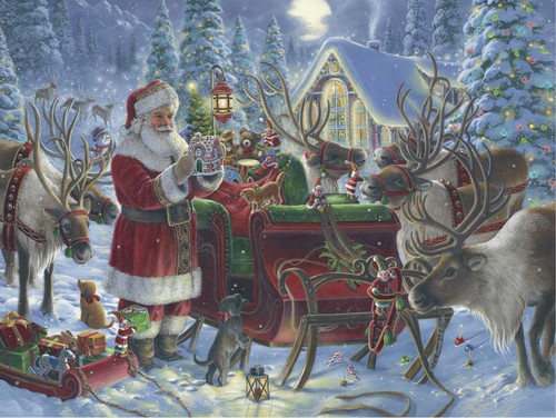 Packing The Sleigh 1000 Piece