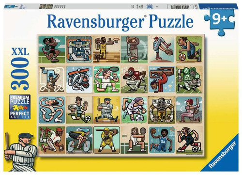Awesome Athletes 300 piece