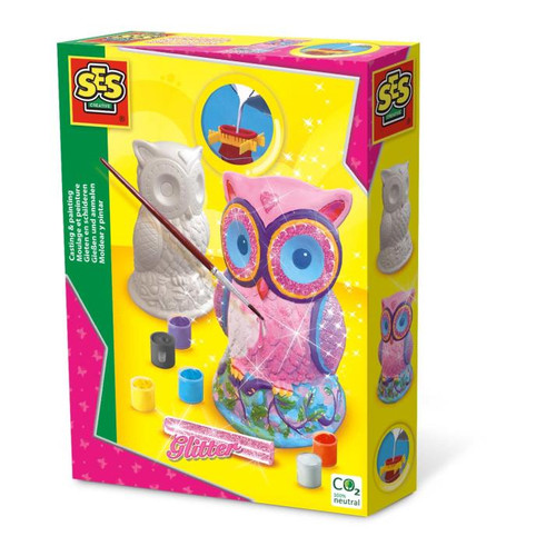 Casting & Painting Owl