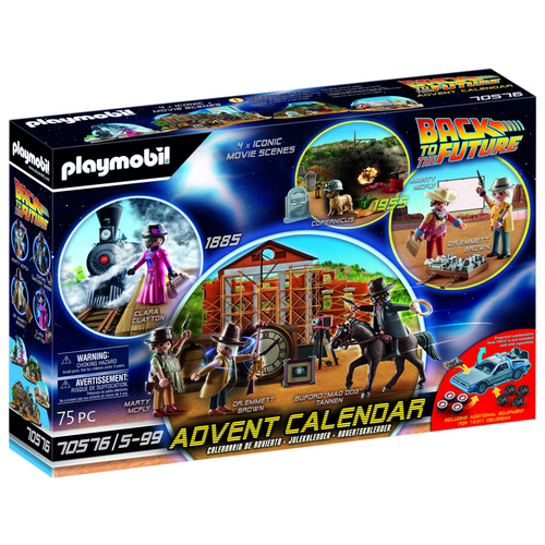 Advent Back to the Future Western