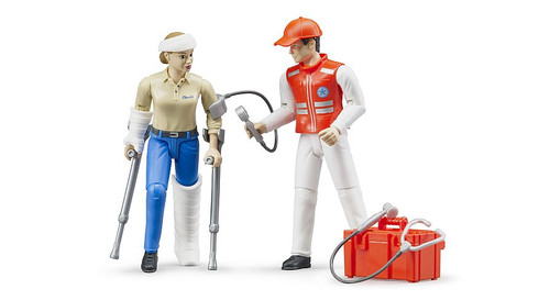 Emergency Services Figure Set