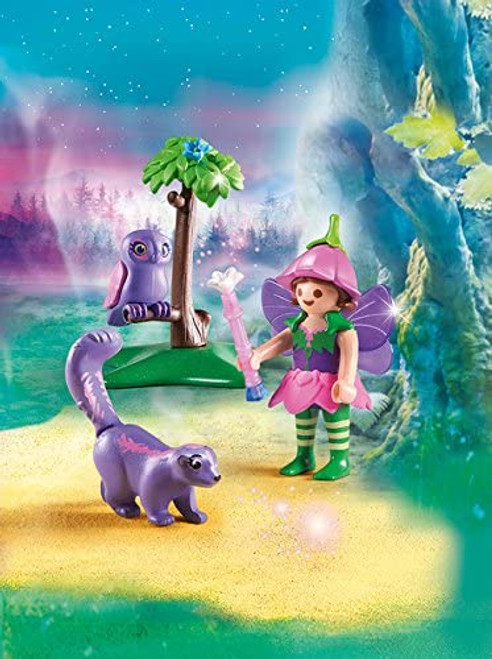Fairy Girl With Animal Friends