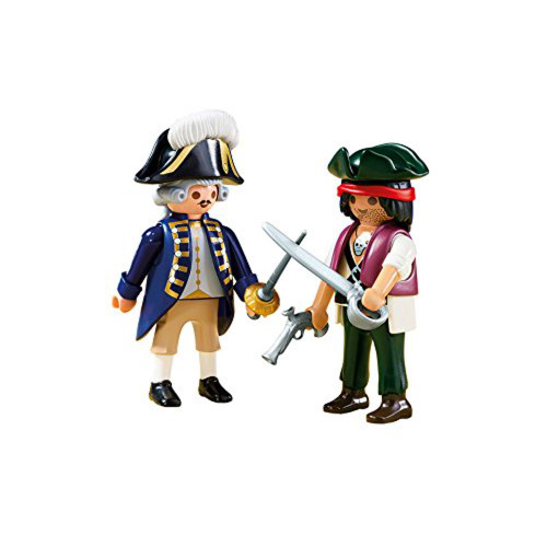 Pirate and Soldier Duo