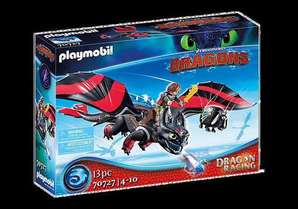 Dragon Racing - Hiccup and Toothless
