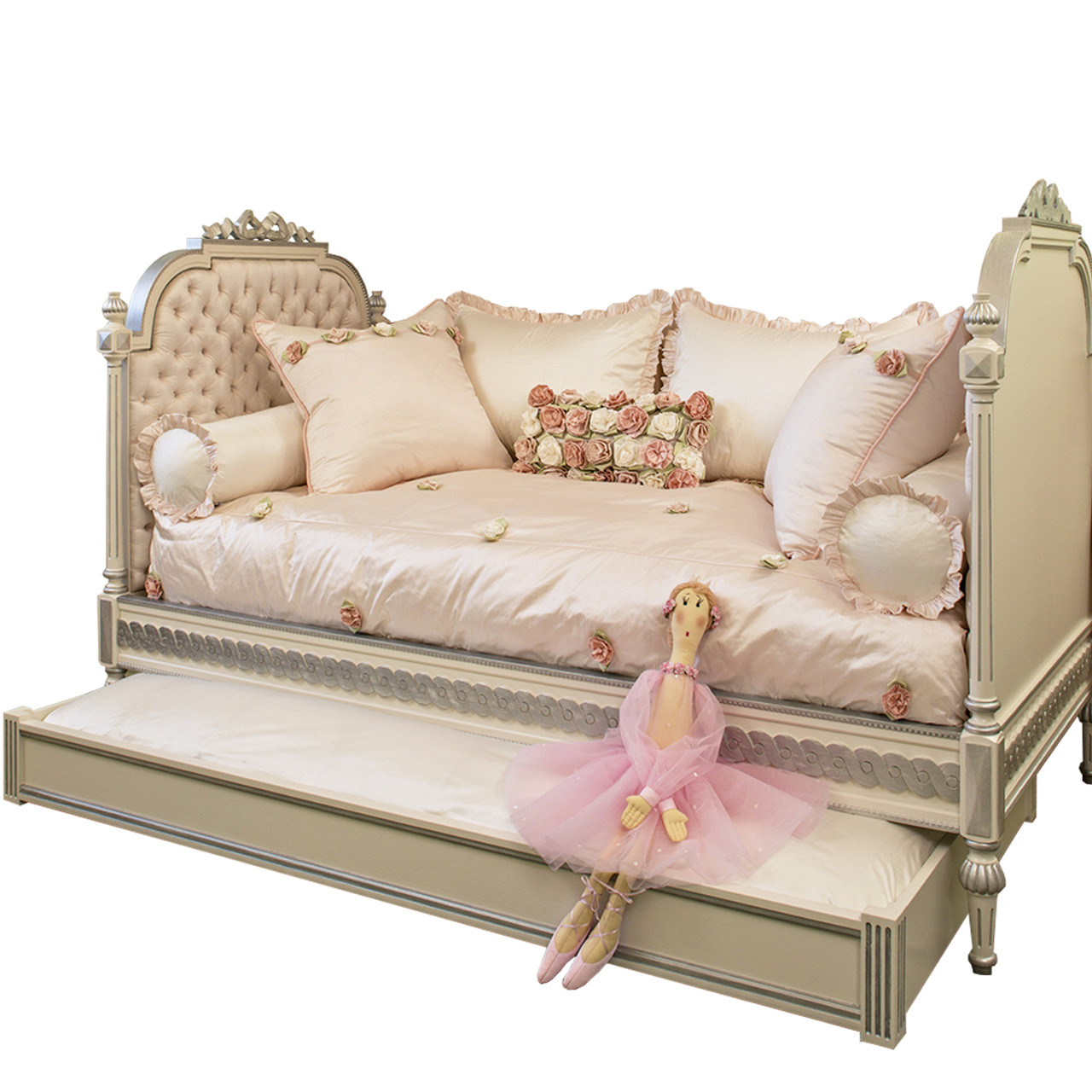- Princess Daybed With Trundle Bograd Kids Kids Furniture NYC