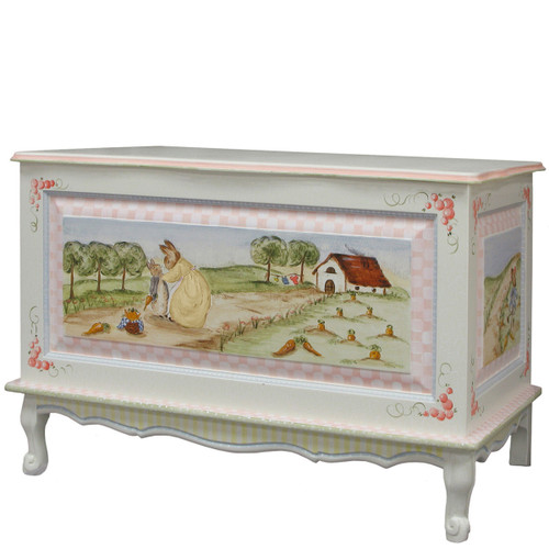 French Toy Chest in Renaissance Enchanted Forest