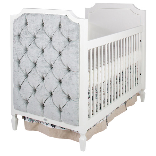 Beverly Crib w/Tufted Panels