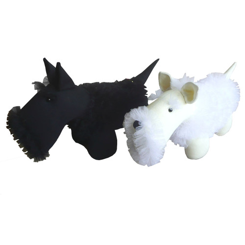 Dog: Salt and Pepper the Scottie Dog
