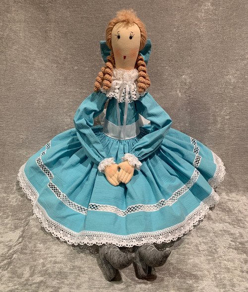 Doll: Clara - Blue Dress