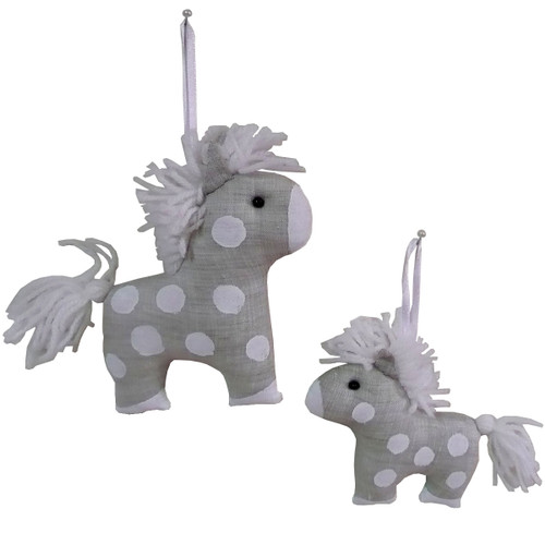 Christmas Toy: Horse Large and Small