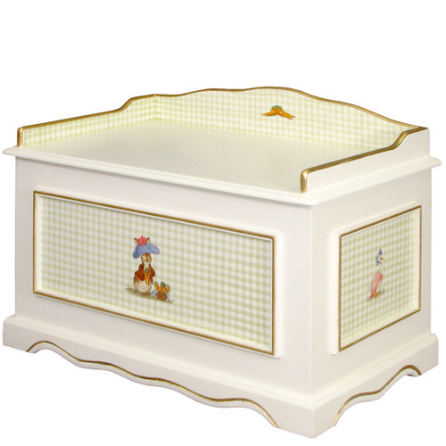 Vintage Toy Chest in Classic Enchanted Forest