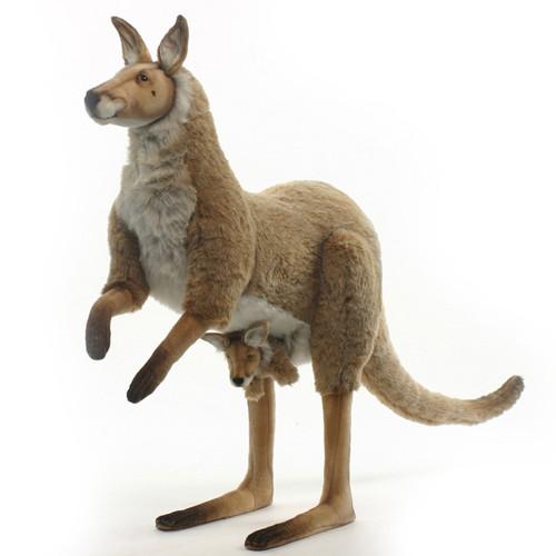 Kangaroo Mama and Baby