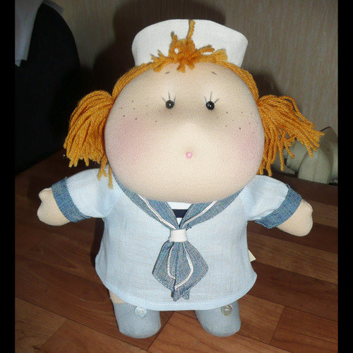Doll: Mia in her Sailor Dress