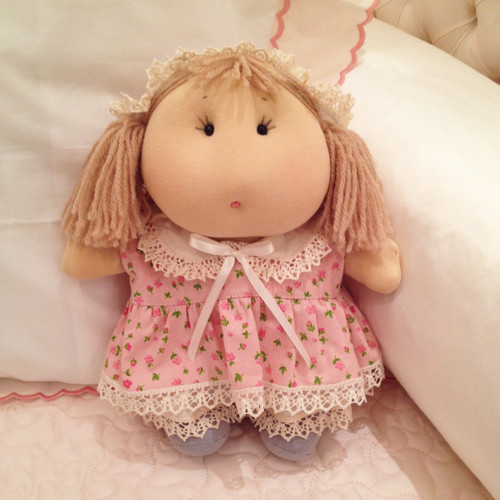 Doll: Mia in her Pink Dress
