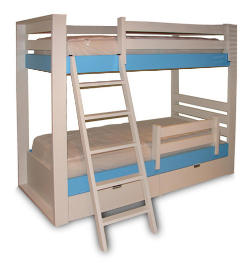 Jill/Jack Bunk Bed w/Drawers