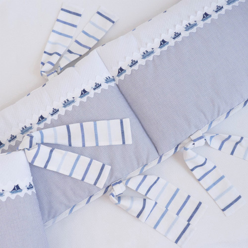 Ships and Sea Breeze Baby Crib Set