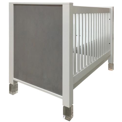 BK Modern-II Crib w/Glass Legs