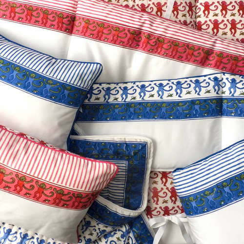 Monkey Baby Crib Set