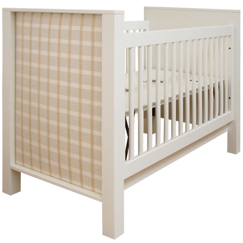 BK Modern Crib w/Upholstery