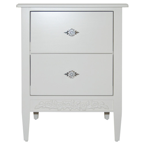 Swedish Nightstand - 2 Drawers - FLOOR SAMPLE