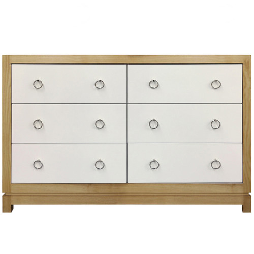 Tempo Dresser 6 Drawer - Natural Ash