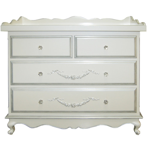 Belle Paris 4-Drawer Dresser w/Changer - FLOOR SAMPLE