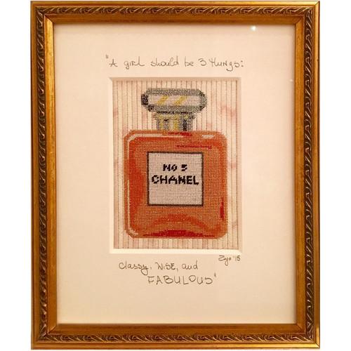 Needlepoint - Chanel No. 5 Perfume Bottle
