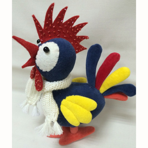 New Designs: Dennis the Small Rooster
