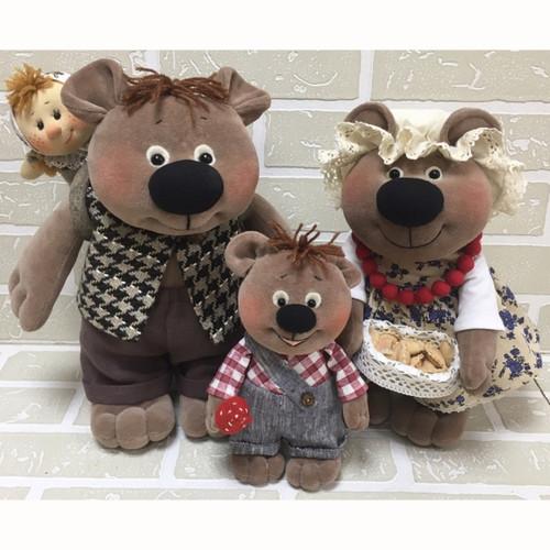 New Designs: Three Bears Family