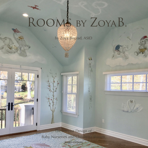"""Rooms by ZoyaB."" - 3nd Edition Book"