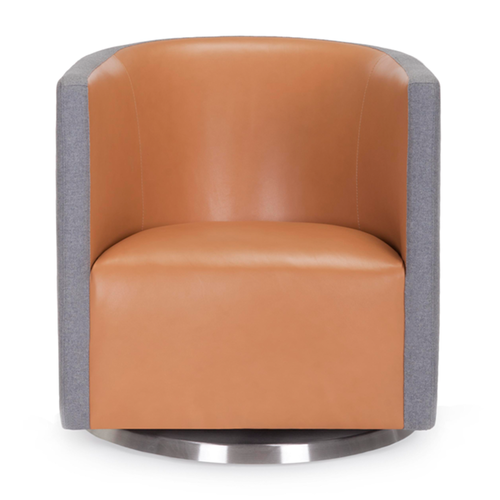 Mitchell Swivel Chair 2-Tone