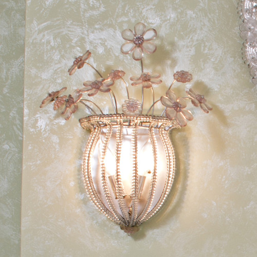 Pair of Sleeping Beauty Sconces - FLOOR SAMPLE