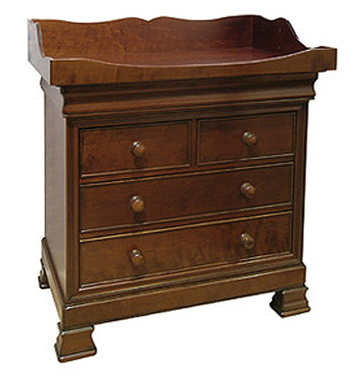Louis  Philippe 5 Drawer Dresser w/Changing Tray - FLOOR SAMPLE
