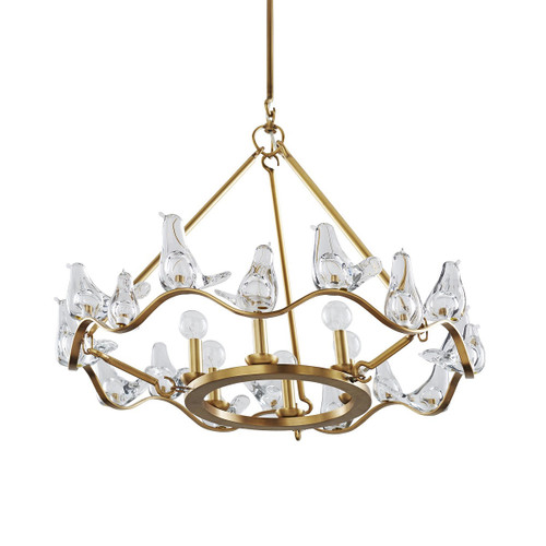 Dove Small Chandelier - Floor Sample